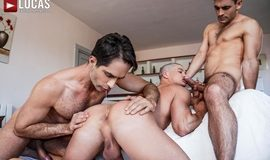 Banging Ruslan's Bubble Butt – Max Arion, Michael Lucas, Ruslan Angelo