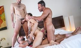Fucked To The Max – Ethan Chase, Jeffrey Lloyd, Manuel Skye, Max Arion