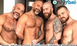 Jesse Jackman, Dirk Caber, Nigel March & Kitten Bear