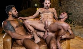 Viktor Rom, James Castle, Manuel Skye | Bareback Threesome
