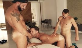 Dani Robles fucked by Koldo Goran and Leo Rosso