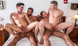 Hot As Fuck – Andrey Vic, Angel Cruz, Lucas Fox, Ruslan Angelo