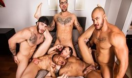 William Seed, Ryan Bones, Kit Cohen, Jason Vario And Trent King In By Invitation Only