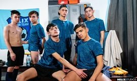 Dave Andrew, Felix Harris, Tommy Ameal, Jack Moon, Antu Burghos, Gil Donovan - Helix Soccer Team Ep 6 – Locker Room Party