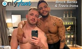 Brock Banks ativo com Travis Irons