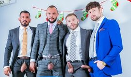 Diego Reyes, Drew Dixon, Joe Gillis, Sir Peter - XMas Eve Boardroom Play