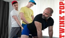 Bishop Angus, Cole Blue, Lucas Ryder - TOP TRAINING – TAG TEAM