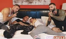 Benjamin Blue, Harvey Sid, Manuel Skye, Markus Kage - Twink Trade – Teach Them Both A Lesson