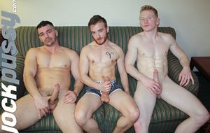 Brogan Reed, Luke Hudson and Spencer Daley's hot threesome in Tulsa