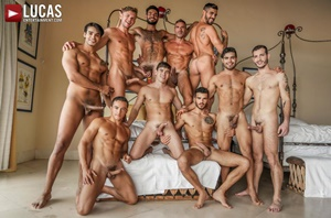 Plowed, Pounded, Pummeled – 11 Man Orgy Part 2