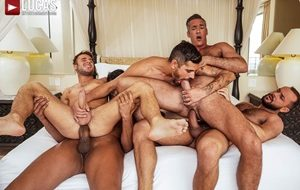 Allen King, Marco Antonio, Silver Steele, Sir Peter, Valentin Amour - Punishing Some Hole