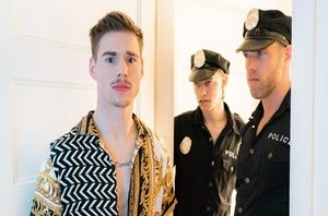 The Cops Want In – Alex Mecum, Leo Louis, Lev Ivankov