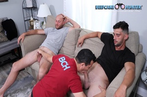 Hot afternoon with two BCH Legends – Justin & Christian