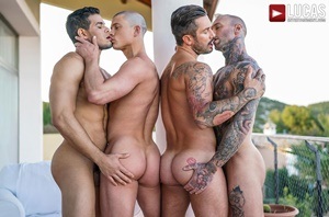 Andrea Suarez, Dylan James, Rico Marlon, Ruslan Angelo - Filled Up With Cum