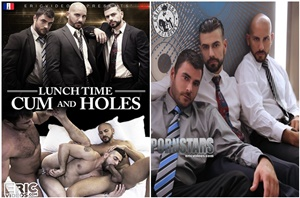 Lunch Time Cum and Holes - Filme Gay Completo